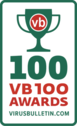 100 VB 100 Awards - virusbulletin.com logo