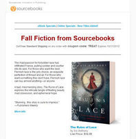 Sign up for the Sourcebooks consumer newsletter