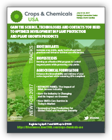 Crops & Chemicals USA brochure cover