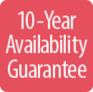10-Year Availability Guarantee