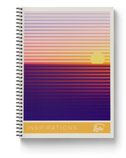 Inspiration Strikes Notebook Cover Image