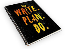 Write. Plan. Do. Notebook