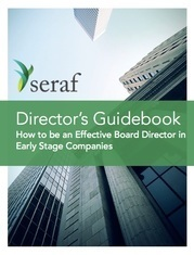 Director's Guidebook eBook