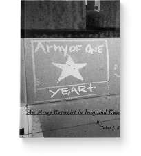 Cover Army of One (Year +): An Army Reservist in Iraq and Kuwait image
