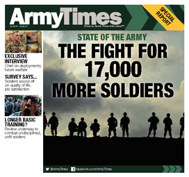 Subscribe to army times looking for international delivery please contact our customer service department at 1 386 246 0432 fandeluxe Images