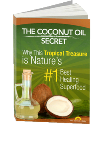 The Coconut Oil Secret Book Cover