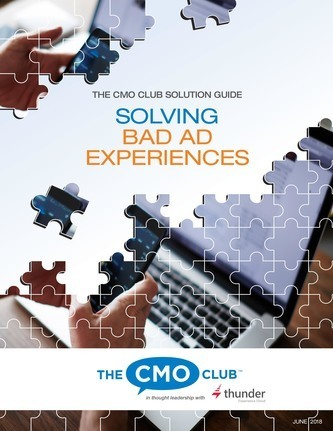 CMO Club Solution Guide for Solving Bad Ad Experience - Free Download