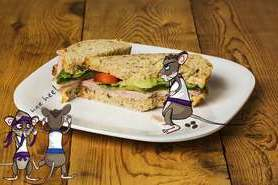 The rodent rebels discover a sandwich