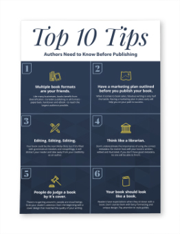 Top 10 Tips Authors Need to Know Before Publishing