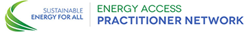 This is the Energy Access Practitioner Network Logo
