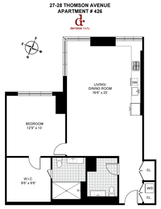 apartment 426 floor plan at the arris lofts
