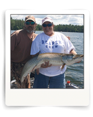 Cal Ritchie Guides Client to Eagle Lake Muskie