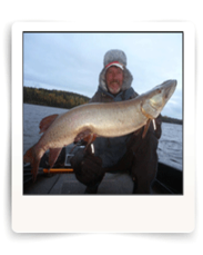 Cal Ritchie Eagle Lake Ontario Muskie