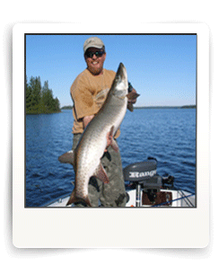 Eagle Lake Muskie in Northwest Ontario