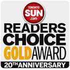 Diamond and Diamond are proud winners of the Toronto Sun Readers Choice Award