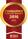 Diamond and Diamond are winners of the Consumer Choice Award for business excellence for the Greater Toronto Area