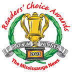 Mississauga News Readers Choice Award was awarded to Diamond and Diamond