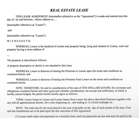 Sublease agreement lease agreement platinumwayz