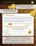 Start 2013 with Gold page 4