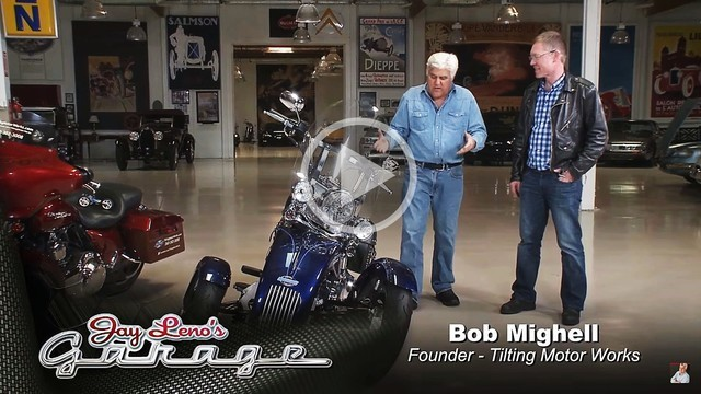 Click to play Jay Leno's Garage