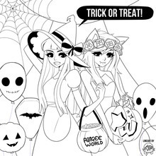 Halloween Coloring page by poliip