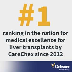 No  1 Liver Transplant Program in the Nation | Ochsner