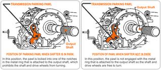 Transmission Parking Pawl | Street Smart® Transmission