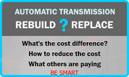 Transmission Rebuild Costs | Street Smart® Transmission