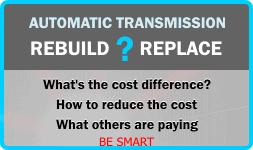 Transmission Repair Costs | Street Smart® Transmission