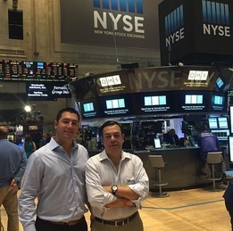 JC Parets at NYSE