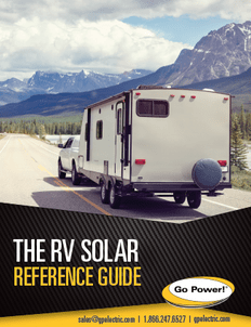 RV Solar Resource Guide Cover