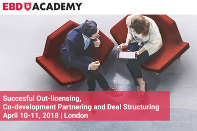 Successful Out-licensing, Co-development Partnering and Deal Structuring