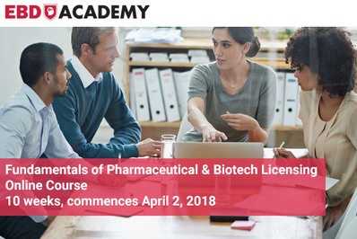Fundamentals of Pharma and Biotech licensing online course