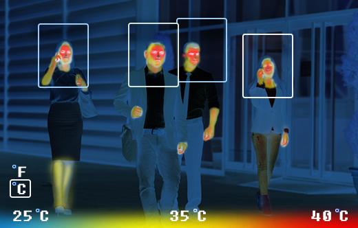 Luxand brengt camera's op de markt die door (coronavirus) gezichtsmaskers heen kunnen kijken