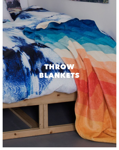 shop throw blankets