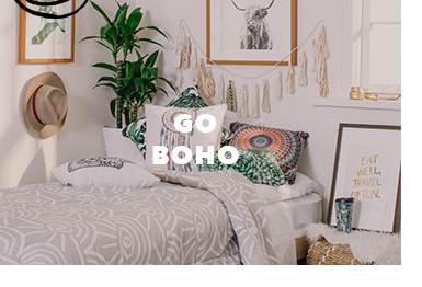 shop bohemian themed bedroom