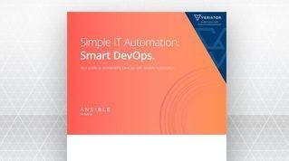 eBook on how to accelerate DevOps with Red Hat Ansible automation