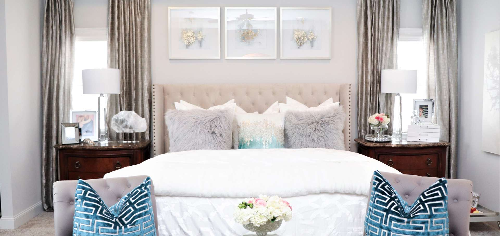 Bedroom Makeover  Home Decor Ideas  Z Gallerie