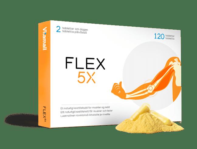Flex 5x gratis i 60 dager (betal kun 79,- porto)