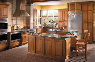 Pictured Here: Brookwood Cabinetry