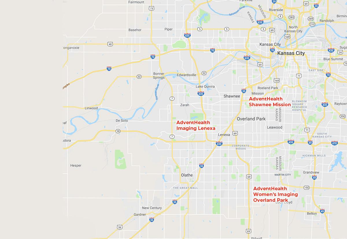 AdventHealth Map