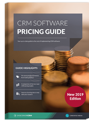 CRM software pricing guide - exclusive guide from Discover CRM