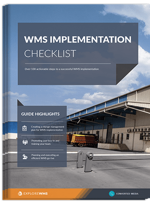 WMS implementation checklist - exclusive guide from Explore WMS