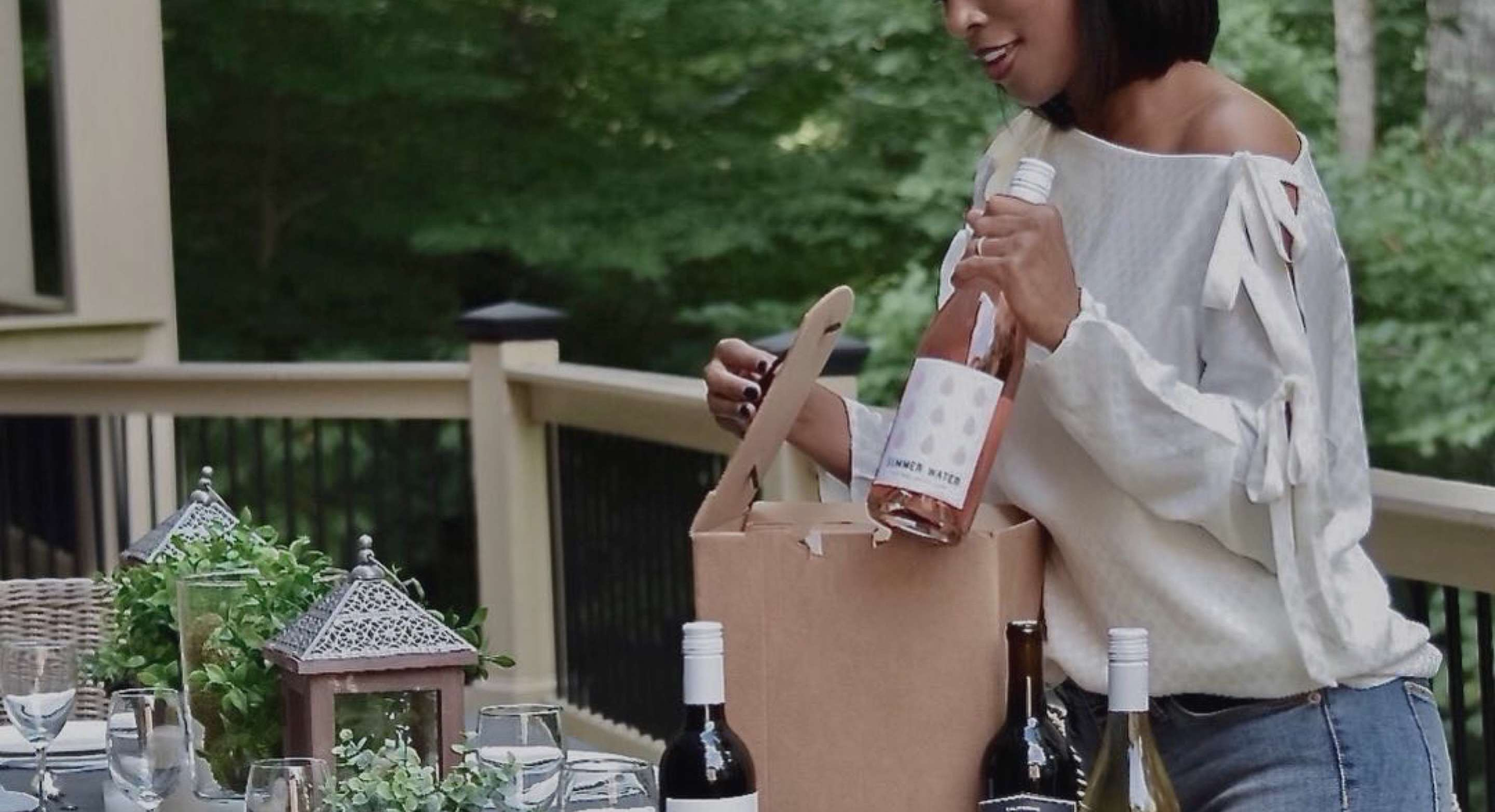 Get 4 Bottles of Winc Wine for...