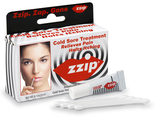 FREE Zzip Cold Sore Treatment.