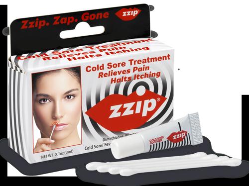 FREE Zzip Cold Sore Treatment.