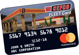 earn up to 6 per gallon on gas or diesel fuel purchases made on your cefco fleet card - Fleet Card