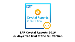 Crystal Reports 30 days Free Trial