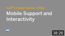 SAP Crystal Solutions - Video Resources